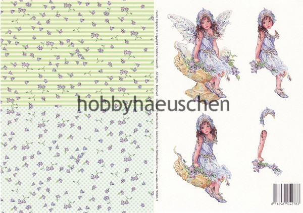 Christine Haworth 3D-Motivbogen Step-by-Step FAERIE POPPETS (1)