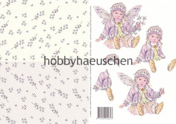 Christine Haworth 3D-Motivbogen Step-by-Step FAERIE POPPETS (4)