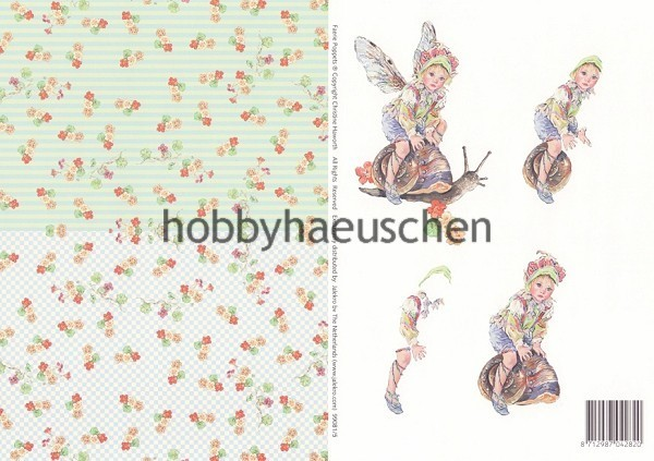 Christine Haworth 3D-Motivbogen Step-by-Step FAERIE POPPETS (5)