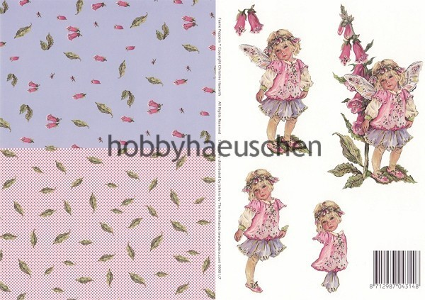 Christine Haworth 3D-Motivbogen Step-by-Step FAERIE POPPETS (7)