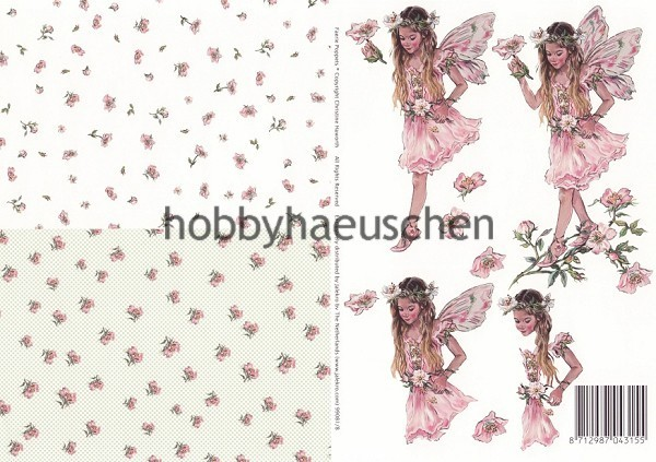 Christine Haworth 3D-Motivbogen Step-by-Step FAERIE POPPETS (8)