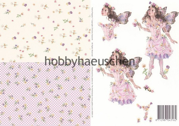 Christine Haworth 3D-Motivbogen Step-by-Step FAERIE POPPETS (9)