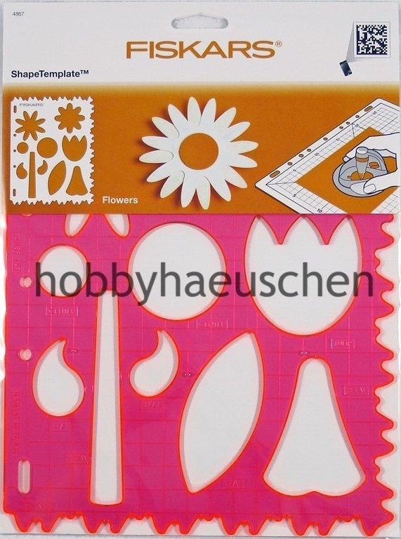 Blumen Muster Blume Fiskars Fortlaufende Stempel für das Fiskars Stempelrad