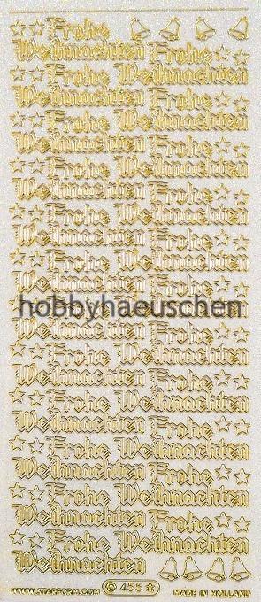 Frohe Weihnachten Glitzer.Starform Sticker Frohe Weihnachten Gotische Schrift