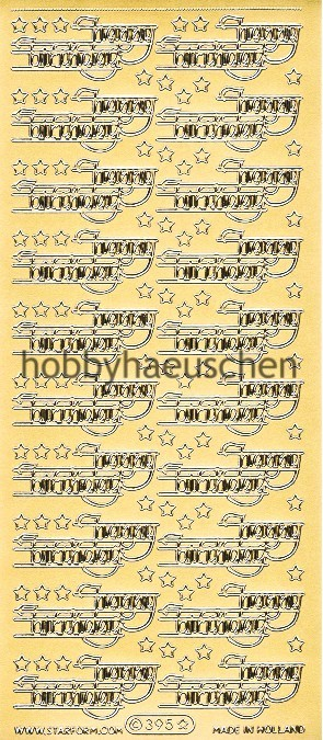 Starform Schrift-Sticker HAPPY BIRTHDAY (2)
