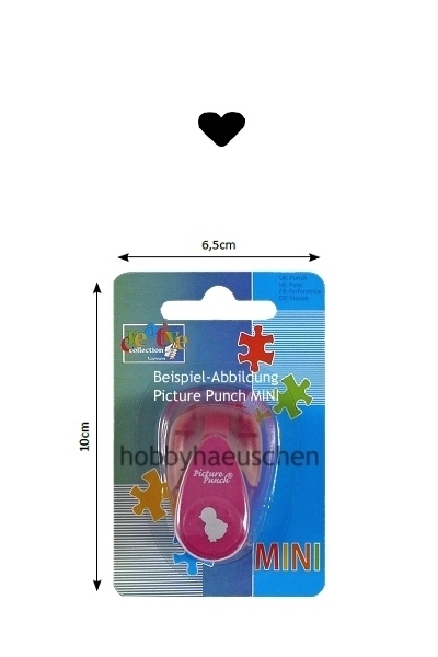creative collection Picture Punch® MINI Motivstanzer HERZ (HEART)