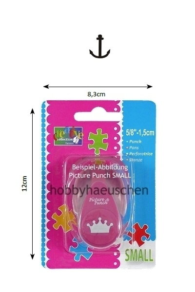 creative collection Picture Punch® SMALL Motivstanzer ANKER (ANCHOR)