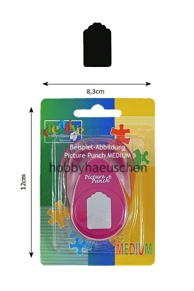 creative collection Picture Punch® MEDIUM Motivstanzer ANHÄNGESCHILD (PRICE LABEL)
