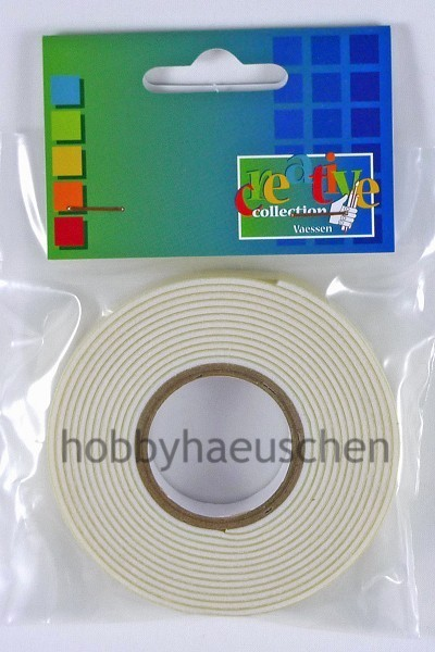 creative collection 3D Foam Tape Schaum-Klebeband 2mm x 12mm x 2m