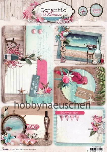 StudioLight Stanzbogen Project Cards ROMANTIC SUMMER