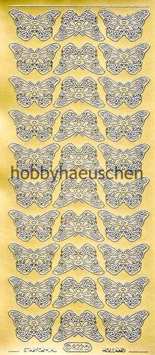Sticker Schmetterlinge Starform 124