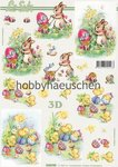 Le Suh 3D Step-by-Step-Motivbogen OSTERN (2)